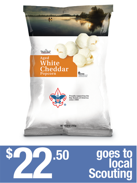 Aged White Cheddar Popcorn - 2 bags
