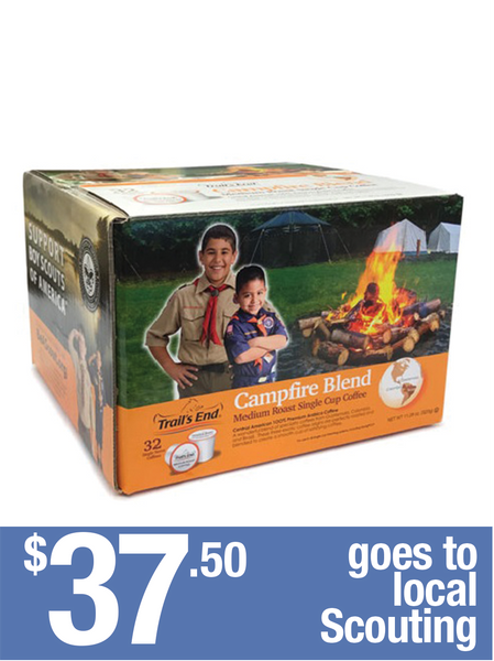 Campfire Blend Coffee K Cups - 32 Servings