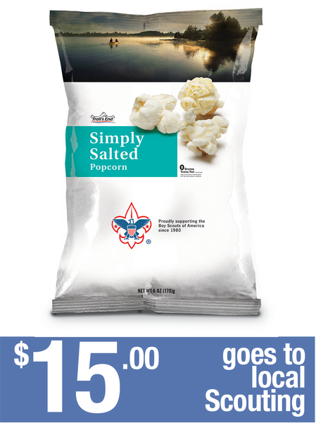 Simply Salted Popcorn - 2 bags