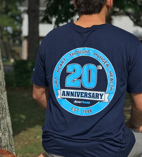 AccuTRANS 20th Logo Performance Shirt