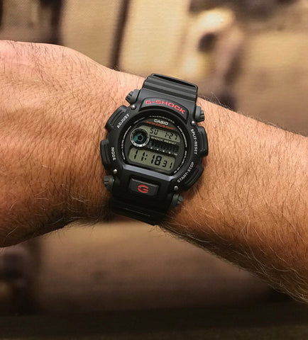 G-Shock Black Digital Watch w/ AccuTRANS Logo