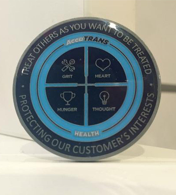 AccuTRANS Collectible Coin