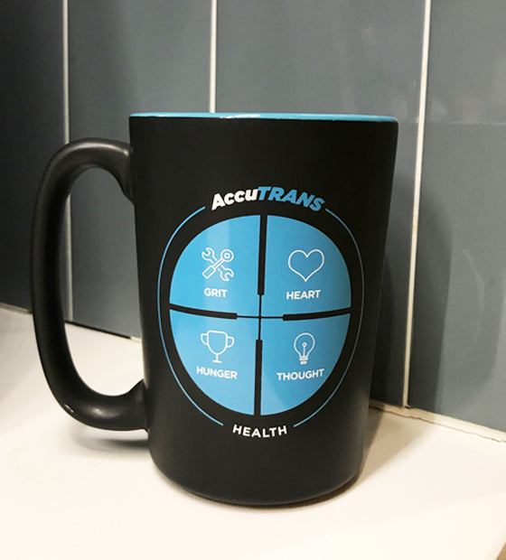 AccuTRANS Pillar Coffee Mug
