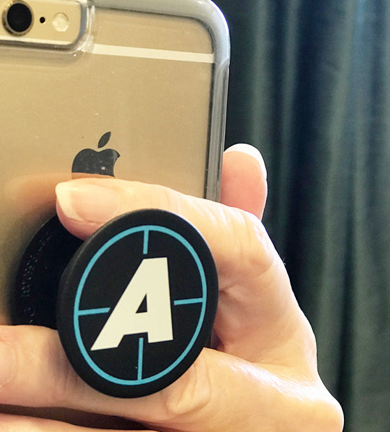 """A"" Pop Socket"