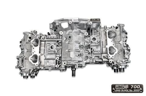 IAG 700 CLOSED DECK LONG BLOCK ENGINE W/ STAGE 3 HEADS FOR 06-14 WRX, 04-19 STI, 04-13 FXT, 05-09 LGT