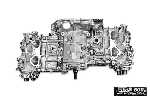 IAG 900 CLOSED DECK LONG BLOCK ENGINE W/ STAGE 4 HEADS FOR 06-14 WRX, 04-19 STI, 04-13 FXT, 05-09 LGT