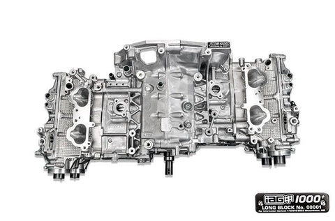 IAG 1000+ CLOSED DECK LONG BLOCK ENGINE W/ STAGE 5 HEADS FOR 06-14 WRX, 04-19 STI, 04-13 FXT, 05-09 LGT