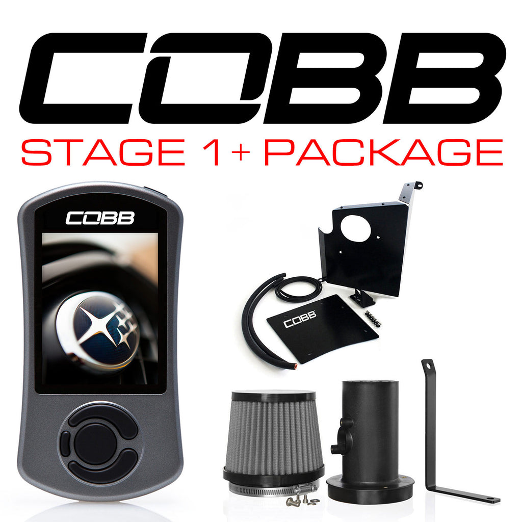 COBB Tuning Stage 1+ Power Package STI 2004-2007 (613X01P) - SubieStage
