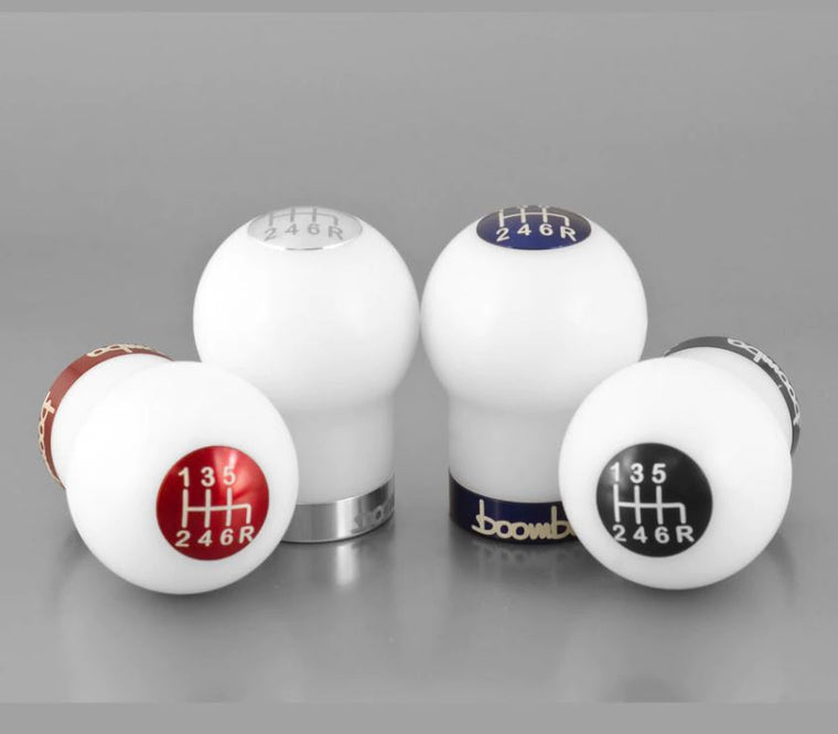 Boomba Racing Round Shift Knob Version 2 270G WRX/STI 6 Speed - SubieStage