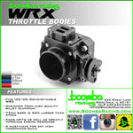 Boomba Racing 2002-05 WRX/STI 75mm Throttle Body Drive By Cable - SubieStage