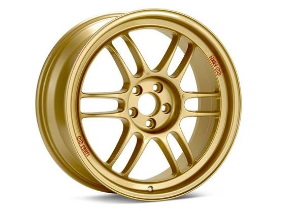 Enkei RPF1 5x100 Gold Wheel (Various Sizes) - SubieStage
