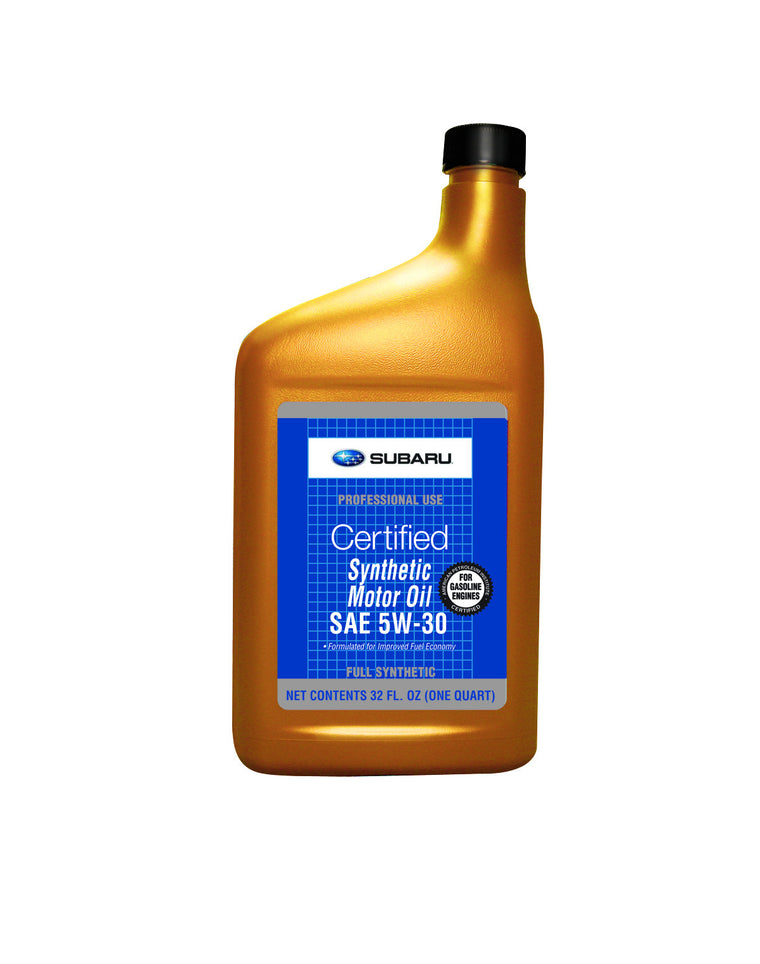 OEM Subaru 5W30 Synthetic Oil 1 Quart (SOA427V1410) - SubieStage