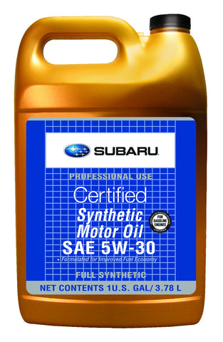 OEM Subaru 5W30 Synthetic Oil 1 Gallon (SOA427V1415) - SubieStage