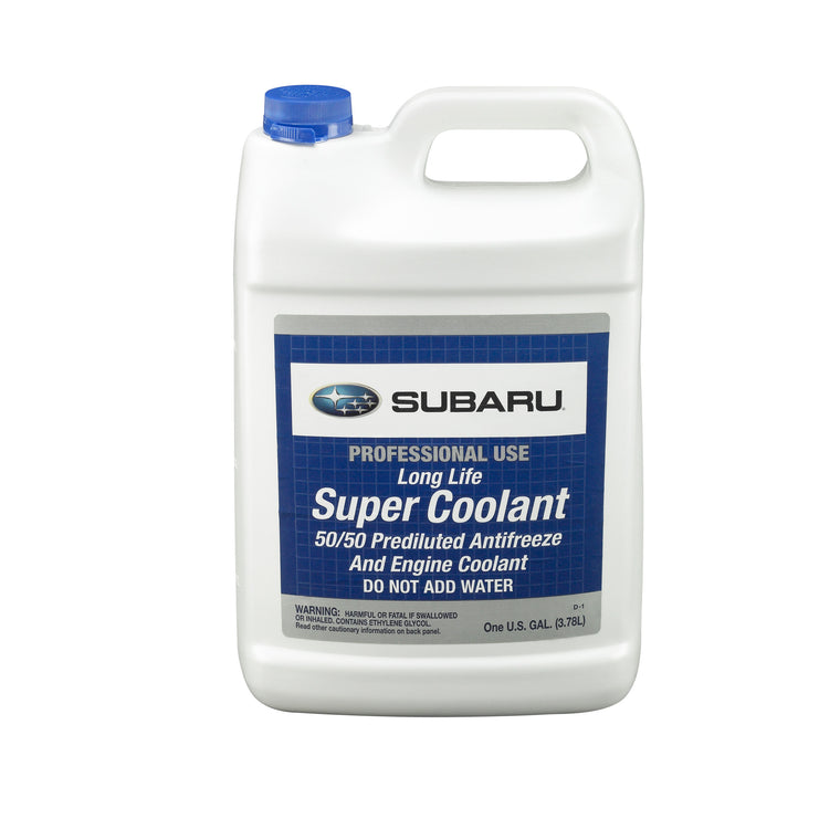 OEM Subaru Super Coolant Pre-mixed 1 Gallon (SOA868V9270) - SubieStage