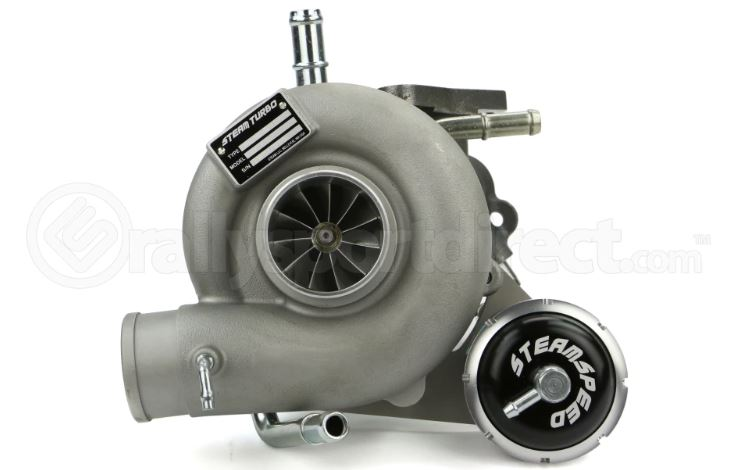 SteamSpeed STX 67R Ball Bearing Turbo 8cm WRX 2002-2007/STI 2004+ (SUB-STX67R-8) - SubieStage
