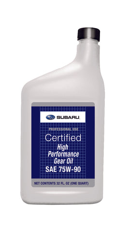 Subaru 75W90 High Performance Gear Oil 1QT Universal (SOA427V1700)