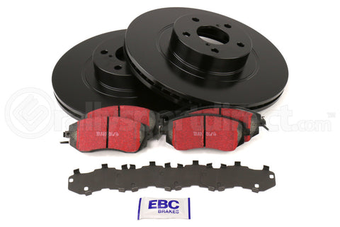 EBC Brakes S1 Front Brake Kit Ultimax2 Pads and RK Rotors Subaru Models (inc. 2011-2014 WRX / 2011-2013 Forester XT) (S1KF1642)