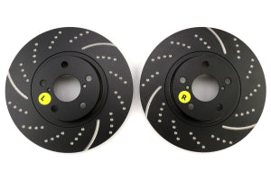 EBC Brakes 3GD Sport Dimpled/Slotted Front Brake Rotors Subaru Models (inc. 2013+ BRZ / 1995+ Impreza) (GD729)