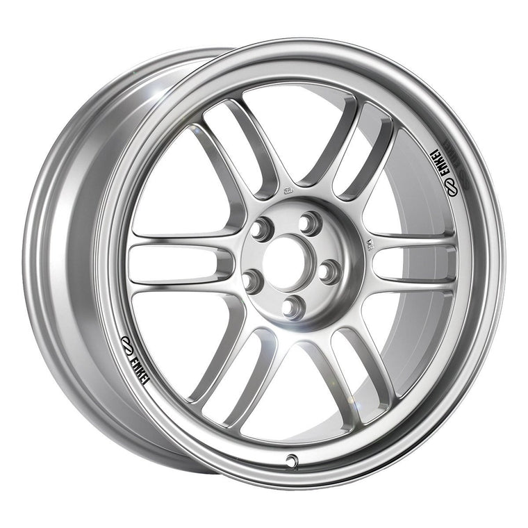 Enkei RPF1 5x114.3 Silver Wheel (Various Sizes) - SubieStage
