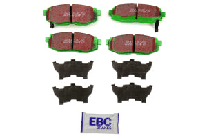 EBC Brakes Greenstuff Rear Brake Pads Subaru/Scion Models (inc. 2013-2016 Scion FR-S / 2013+ Subaru BRZ) (DP21758)
