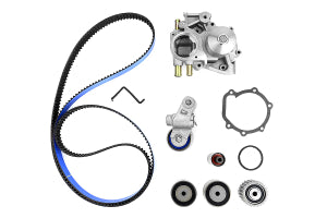 Gates Racing Timing Belt Kit w/ Water Pump Subaru WRX 2004 (TCKWP328BRB)