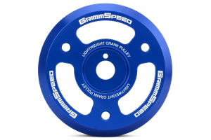 GrimmSpeed Lightweight Crank Pulley Subaru Models (inc. BRZ 2013+ / WRX 2015 - 2018)