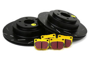 EBC Brakes S9 Kits Yellowstuff and USR Rear Rotors Subaru WRX / STI 2006 - 2007 (S9KR1444)