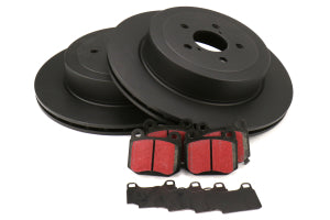 EBC Brakes S1 Rear Brake Kit Ultimax2 Pads and RK Rotors Subaru STi 2004 (S1KR1520)