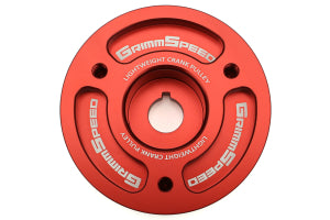 GrimmSpeed Lightweight Crank Pulleys Subaru Models (inc. 2002-2014 WRX / 2004+ STI) (095015)
