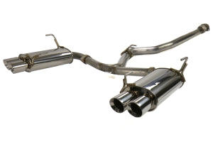 GrimmSpeed Catback Exhaust System Non-Resonated Subaru WRX/STI 2011+ Sedan (070034)