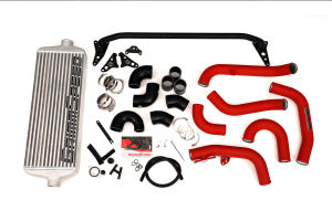 GrimmSpeed Front Mount Intercooler Kit Silver Core w/ Red or Black Piping