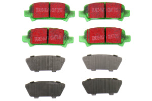 EBC Brakes Greenstuff Rear Brake Pads Subaru Models (inc. 2002-2003 WRX / 2005-2009 Legacy GT) (DP21293)