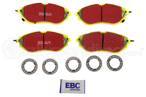 EBC Brakes Yellowstuff Street And Track Front Brake Pads Subaru WRX 2015+ / Legacy 2005+ / Outback 2010+