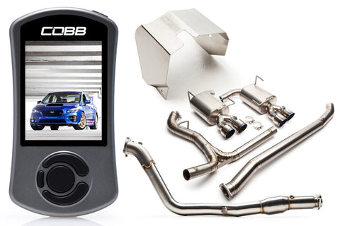 COBB Tuning Subaru Stage 2 Power Package Titanium Subaru STI 2015+ (616X12TI)