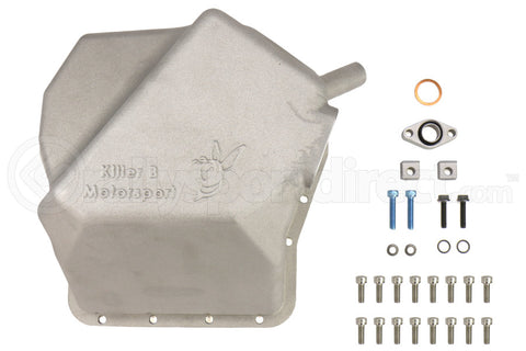 Killer B Motorsport Aluminum Oil Pan Subaru Models (inc. 2002-2014 WRX / 2004+ STI) (EJ25PAN)