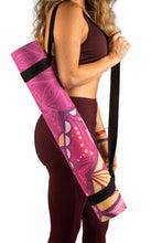 Moonflower yoga mat