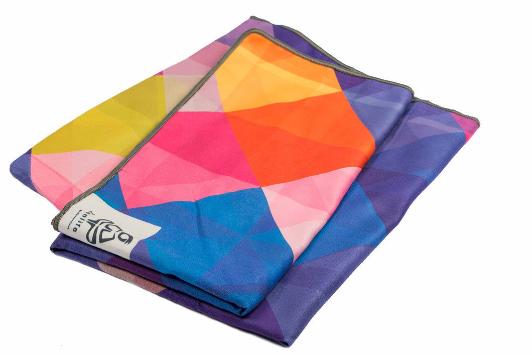 Zen Colors yoga towel ( mat size)