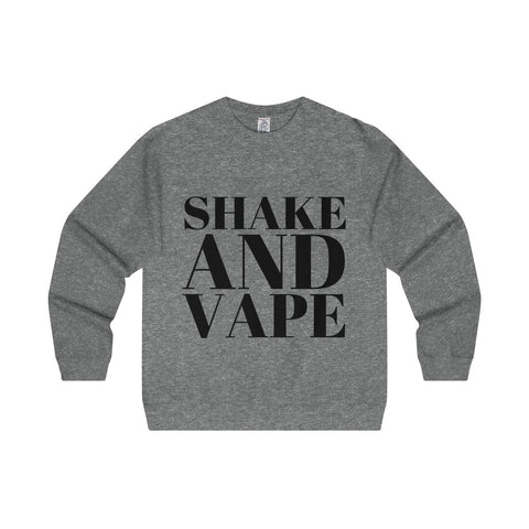 Shake And Vape Men's Midweight  Crewneck Sweatshirt