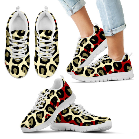 Iconic Cheetah Print Kid's and Women's Shoes