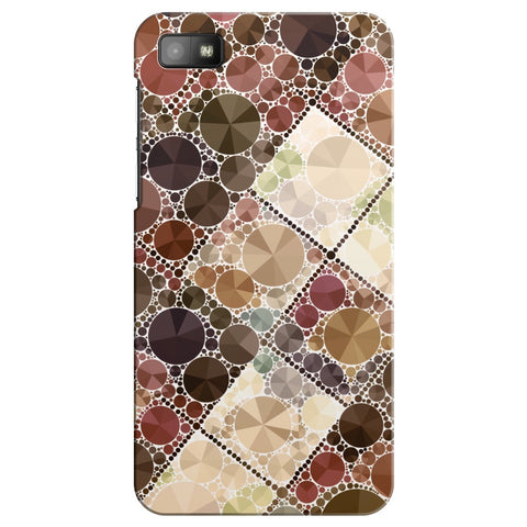 Cream Geometric Bling iPhone Samsung Galaxy Cases