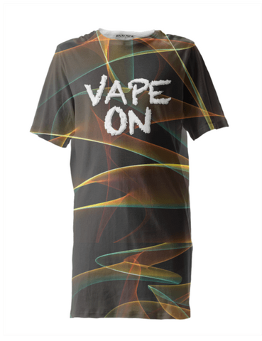 Vape On Psychedelic Smoke Tall Shirt - Ocdesignzz  - 1