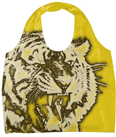 Yellow Tiger Eco Bag - Ocdesignzz