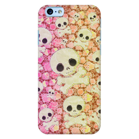 Cute Skull Bones iPhone Samsung Galaxy Cases