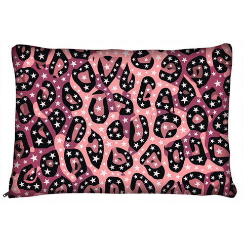 Pink Cheetah Print Dog Beds