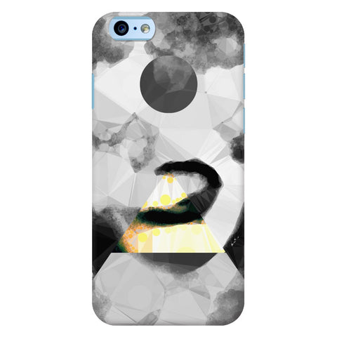 Geometric Vape Art iPhone Cases