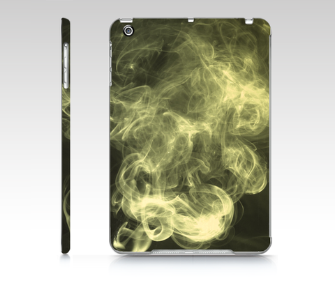 Black Grunge Smoke iPad Mini Case