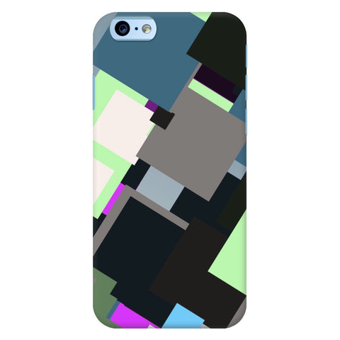 Multicolor Geometric Pattern iPhone Samsung Galaxy Cases