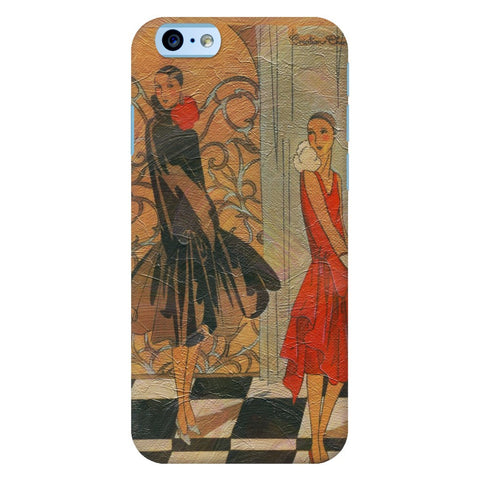 Vinatge Fashion Models iPhone Samsung Galaxy Cases