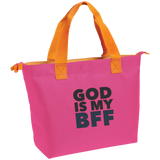 God Is My BFF Zippered Tote - Ocdesignzz  - 2
