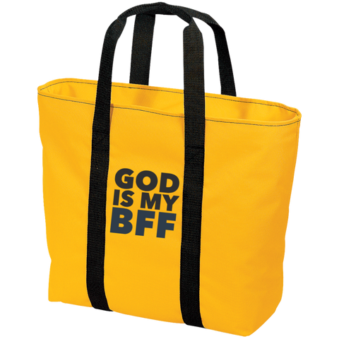 God Is My BFF All Purpose Tote Bag - Ocdesignzz
